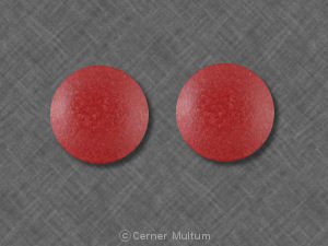 Image of Ferrous Sulfate 325 mg-Red-MUT