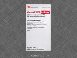 Image of Flovent HFA 110 mcg