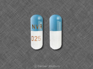 Image of Focalin XR 25 mg