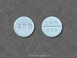 Image of Lamotrigine 200 mg-APO