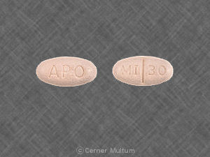 Image of Mirtazapine 30 mg-APO