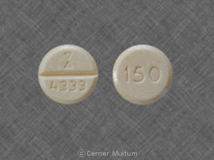 Image of Nefazodone 150 mg