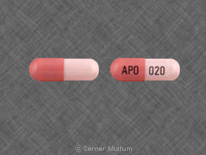 Image of Omeprazole 20 mg-APO