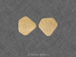 Image of Zantac 150 mg